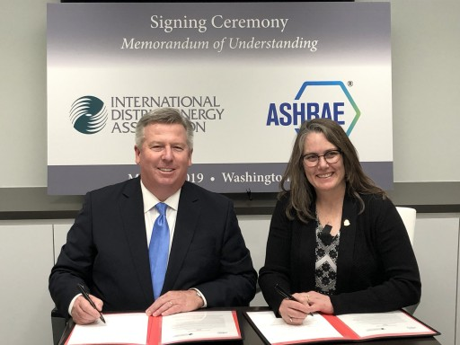 IDEA and ASHRAE Sign Memorandum of Understanding
