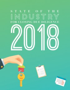 PropLogix | 2018 State of the Industry for Closing Due Diligence