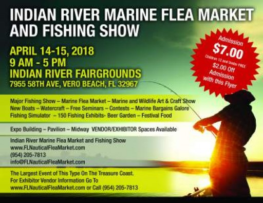 8th Annual Indian River Marine Flea Market and Fishing Show Gets Underway This Weekend