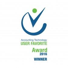 2016 Accountex User Favorite Award Winner