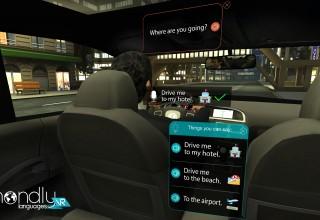 MondlyVR Screenshot - Taxi Scene