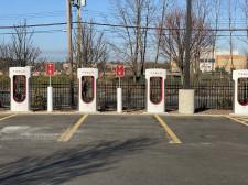 Tesla Supercharge Station