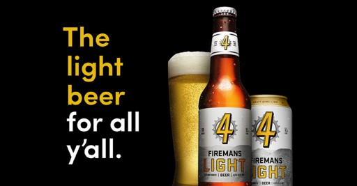 Real Ale Brewing Co. Unites the Light and Craft Beer Aisles With Firemans Light: The Light Beer for All Y'all.