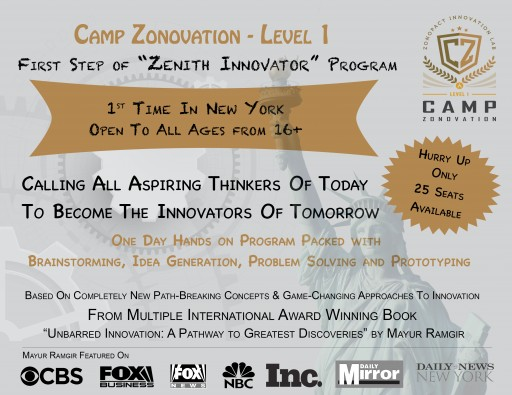 Zonopact Innovation Lab (ZLab) to Conduct Innovation Camp in New York