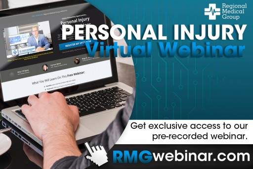 Regional Medical Group Hosts Personal Injury Virtual Webinar