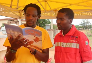Volunteer Ministers shared Scientology spiritual technology with traditional healers, health professionals, community leaders and families, seeking tools to improve conditions in life