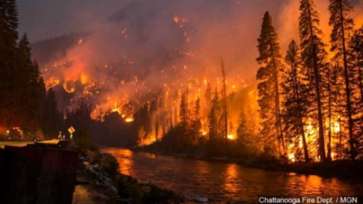 Wildfires Claim Lives, Homes and 15,000 Acres of the Great Smoky Mountains National Park
