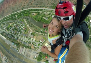 Sky diving in Glenwood Springs
