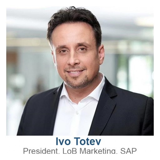 Ivo Totev, President, LoB Marketing, SAP, to Keynote SAPinsider Event