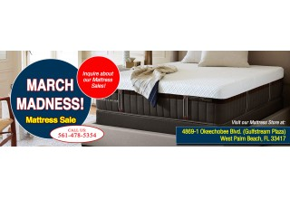 1/2 Price Mattress of the Palm Beaches has top brand mattresses at affordable prices