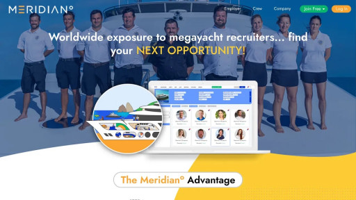 Meridian° Acquires Crew4Yachts, Rolling Out the Most Advanced Crew Hiring Platform in the Industry