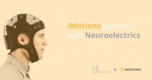 iMotions and Neuroelectrics Partner to Combine Innovative EEG Solutions With Supplementary Biometric Sensors