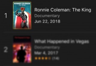 Ronnie Coleman 'The King' Documentary