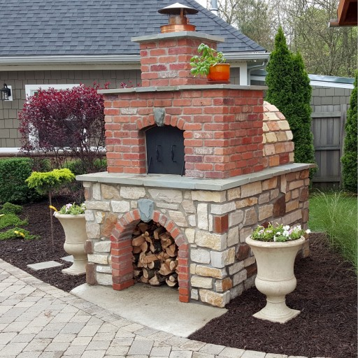 DIY Wood-Fired Outdoor Brick Pizza Ovens Are Not Only Easy to Build - They Add Incredible Property Value