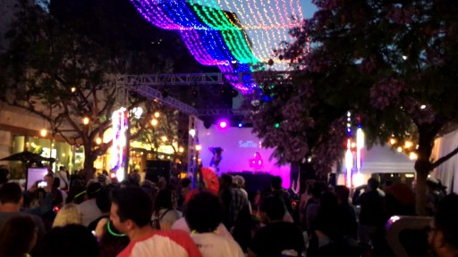Technical Production Support by TLC Creative Lights Up Downtown Santa Monica's Gay Pride on the Promenade Festival