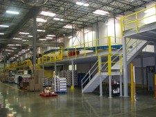 Mezzanine Storage Solution