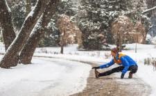 Snowy Run Day