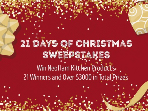 Neoflam is Hosting a 21 Days of Christmas Event