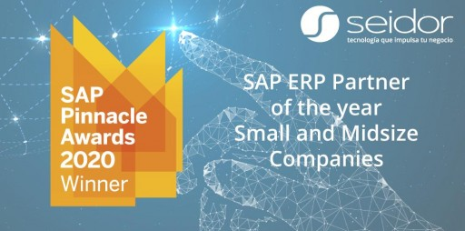 Seidor Revalidates the SAP Pinnacle Award as the Top Partner in the SME Space
