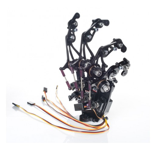 Custom Entertainment Solutions Introduces New Mecha X Robotic Hand