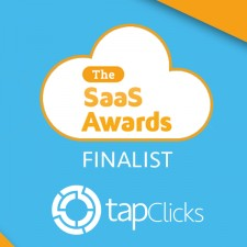 TapClick Finalist in Saas Awards