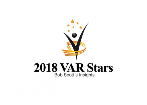 Godlan, Infor CloudSuite Industrial (SyteLine) ERP Specialist, Achieves Ranking on Bob Scott's VAR Stars for 2018
