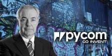 David Stewart New Pycom Chairman