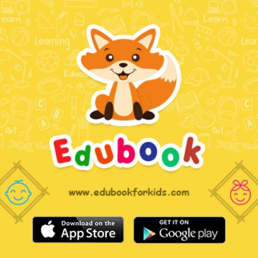 EDUBOOK for Kids, iOS and Android App Offering Fun Filled Educational Worksheets