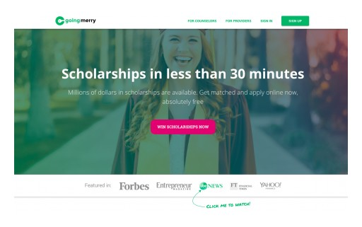 Students Can Now Apply for Dozens of Scholarships at a Time With One Application and One Essay - for Free