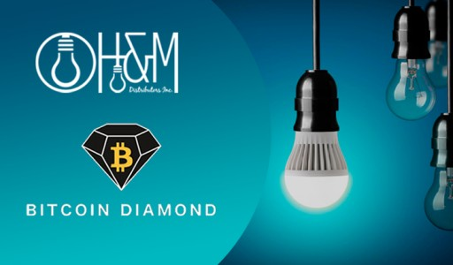 H&M Distributors, Inc. to Accept Cryptocurrency Payments Including Bitcoin Diamond