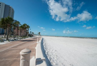 Scientology Volunteer Ministers descended on Clearwater Beach after Hurricane Irma, restoring it to its pristine beauty.