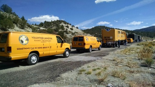1,500-Mile 'Something CAN Be Done About It' Convoy Leaves for Texas With 200 Tons of Donated Building Supplies to Rebuild Homes