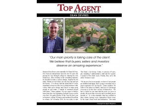 Top Agent Magazine Pg 1 of 2