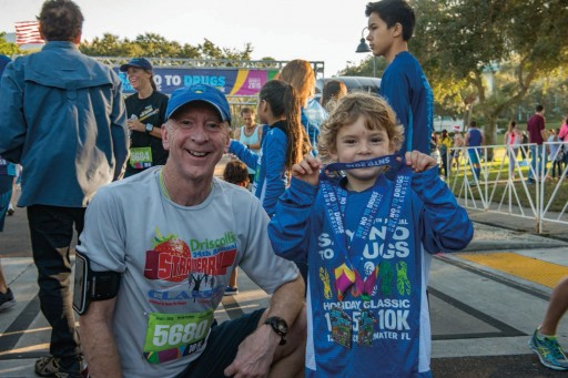 Racing for a Drug-Free Community