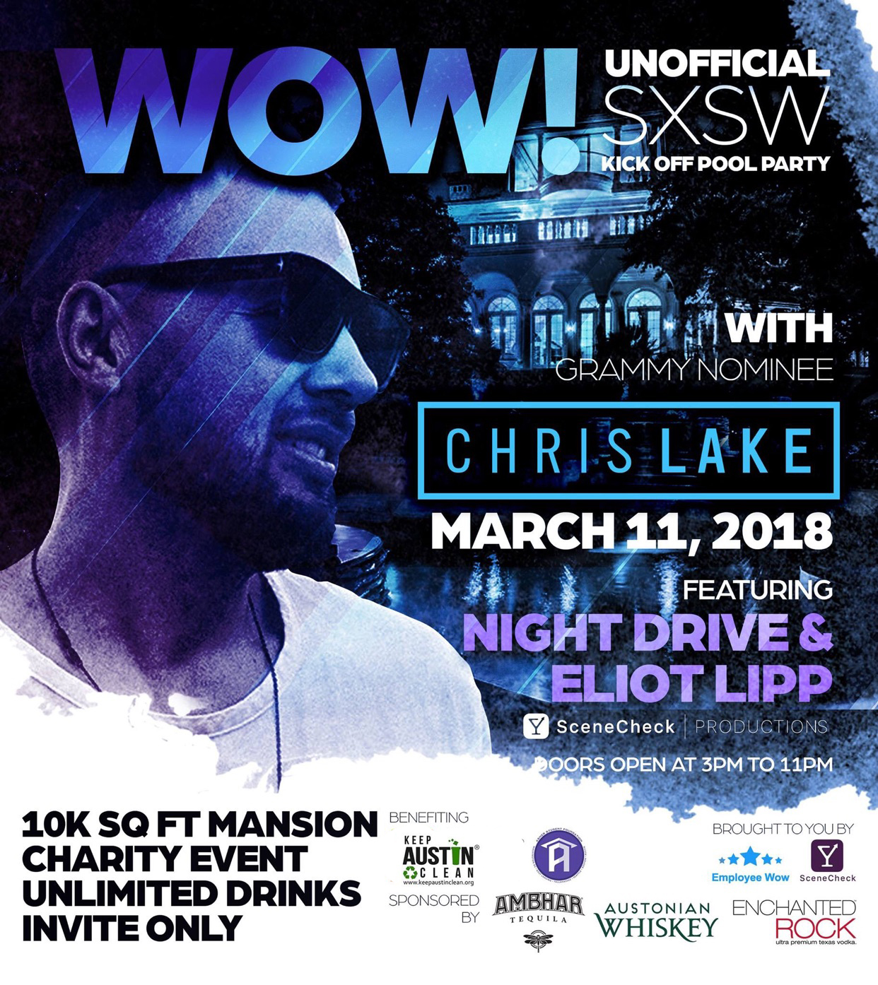 Employee Wow Announces A Charity Event Artist Line Up Playing At