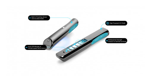 3B Medical Releases the Lumin Wand, the Only Portable UVC Sanitizing Wand That Has Public 3rd Party Results Proving It Can Eliminate 99.9% of Germs and Bacteria in Seconds