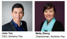 image of CEO John Tan & Chairwoman Molly Zheng