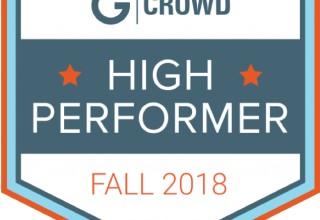 G2 Crowd Badge: High Performer