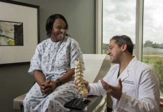 Dr. Marco A. Rodriguez of the International Spine Institute in Baton Rouge, Louisiana