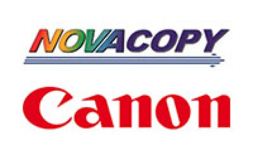 NovaCopy Partners With Canon U.S.A., Inc. as Authorized Dealer