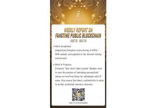 FansTime Public Blockchain Development Report
