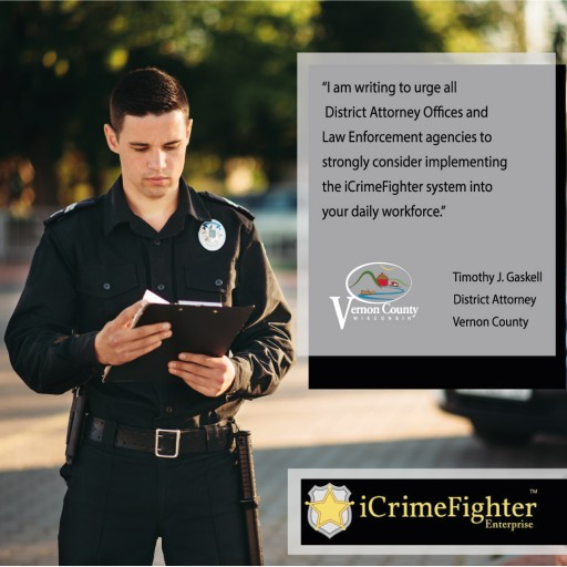 Vernon County District Attorney Recommends iCrimeFighter