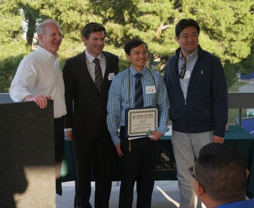 Chris Ma, CEO of Vantage LED, Inducted Into Sigma Nu Tau Entrepreneurship Honor Society at CSUSB
