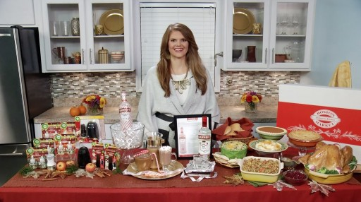 Chef and Lifestyle Expert Mandy Landefeld Shares Timely Survival Guide on Tips on TV Blog for a Great Holiday