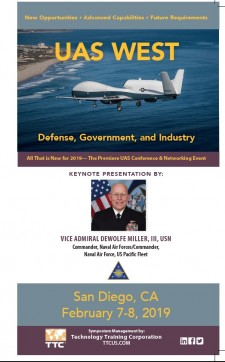 Unmanned Aircraft Systems West for DoD and Government Feb. 7-8, 2019 San Diego