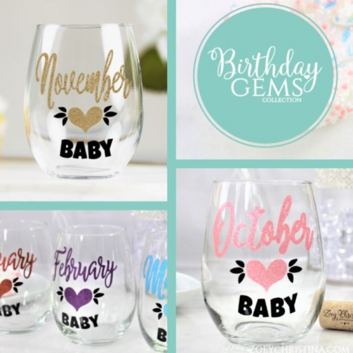 Zoey Christina Launches New Birthday Gems Glassware Collection