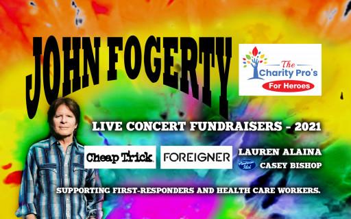 HOF Legend John Fogerty to Headline 'Charity Pros for Heroes' Concert Tour