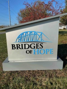 Bridges of Hope Treatment Center - Exterior Sign with Logo