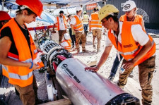 Gebrüder Weiss Invests in Future of Mobility with Swissloop Tunneling Team