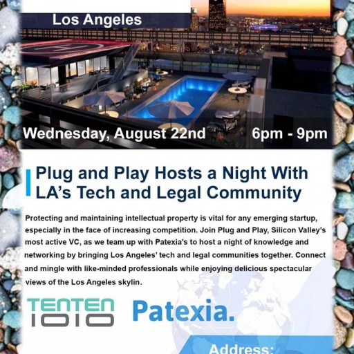 TENTEN Wilshire Rooftop: Plug and Play Evening for LA Tech and Legal